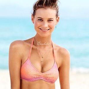 ✨NWT Victoria's Secret Ombré Lace Bralette Bikini